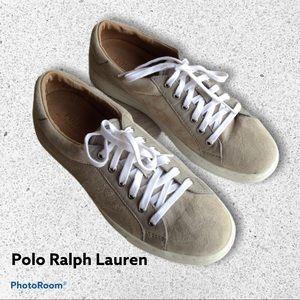 Polo Ralph Lauren Drew Suede Lace-up Trainer